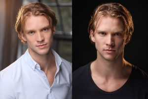 Tim Blore Actor HEadshots