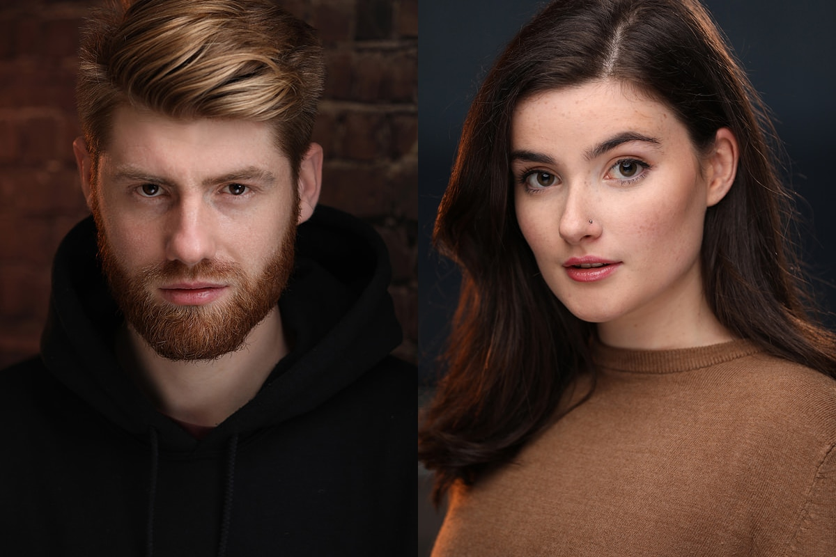 Actor Headshots Portfolio featuring male and female actors