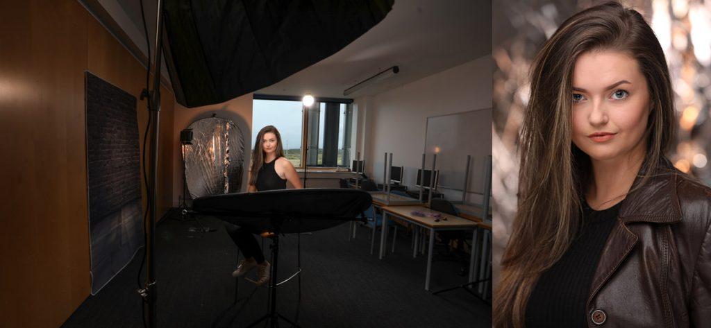 Actor Headshots behind the scenes