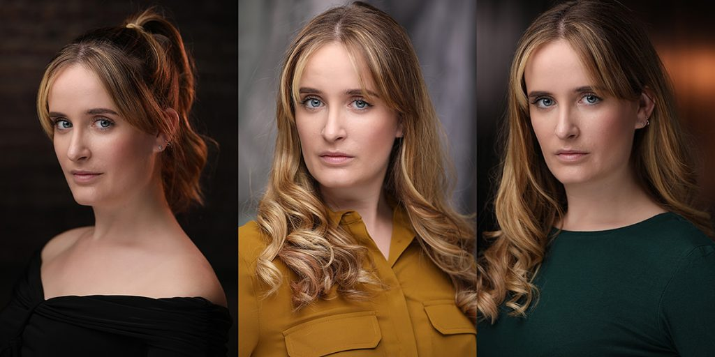 Montage of actor headshots of Josephine Helen