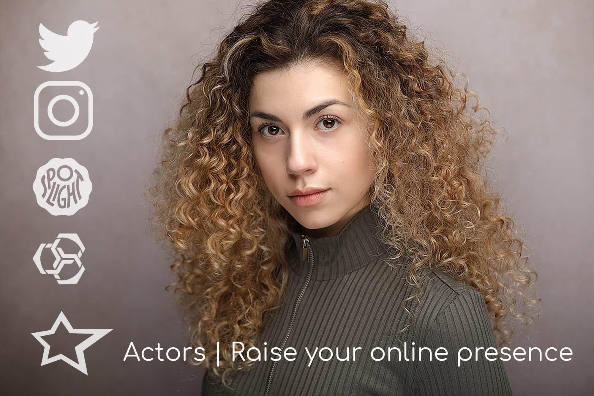 Ways for actors to get more exposure online