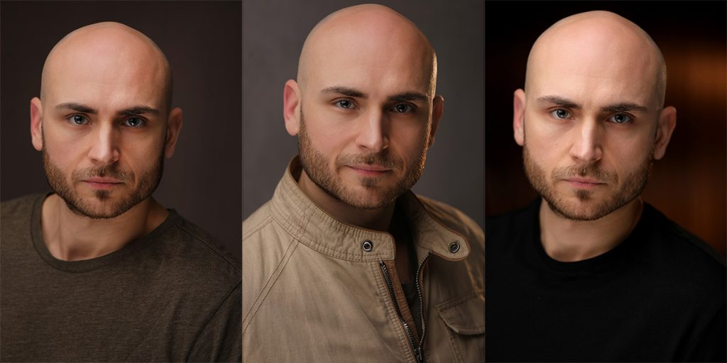 Actor headshots for Ozzy Chetin