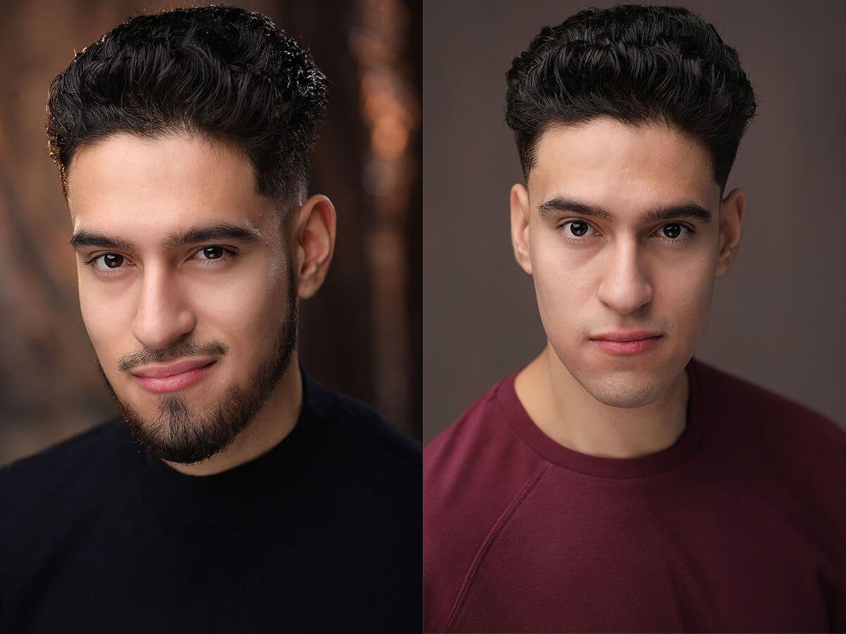 Professional Headshots for Actors